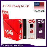 Vorgefüllte Kuchen Einweggeräte Delta 8 D8-1 Zigaretten Ein Gramm-Pod Aufladbar für dickes Öl 0268220