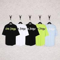 G Melek Kahverengi 2021s Geri Büyük Mektup Chao Marka Yüksek Sokak Erkek Ve Kadın Kısa Kollu Sis Hip Hop T-shirt