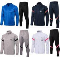 2021 Paris Homens Hoodie Football Training Suit Tracksuit 21 22 PSG Futebol Mbappe Survection De Foot Chandal Jaqueta Jogging
