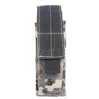 Bag 600D Single Outdoor Tactical Mag Open Top Magazine Holster Pouch With Belt Clip