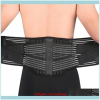 Safety Athletic Outdoor As & Outdoorslumbar Support Strong Lower Back Brace Corset Belt Waist Trainer Sweat Slim For Sports Pain Relief1 Dro