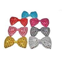 Party Decoration Glow Bow Tie Glowing In Dark Child Adult Gift Birthday Concert Wedding Flash Supplies