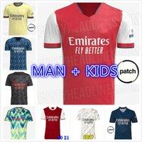 soccer jersey 20 21 22 ODEGAARD PEPE SAKA NICOLAS TIERNEY HENRY WILLIAN MAITLAND NILES 2021 2022 football shirt man Kids kit
