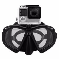 Diving Masks Professional Underwater Mask Scuba Snorkel Swimming Goggles Equipement Suitable For Most Sport Camera
