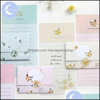 Bags Packing Office School Business & Industrialyueguangxia Antiquities Flower Spring Greeting Card Butter Paper Envelopes With Seal Sticker