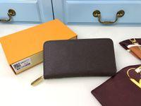 2021 Moda Homens Mulheres Luxurys Designers Carteira sacos Zipper Zippy 60017 M60930 Cartão Card Chave Suportes bolsa carteiras de couro bolsa de couro bolsa de ombro