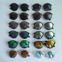 رجل أزياء المرأة النظارات الشمسية مصمم الكلاسيكية العلامة التجارية نظارات الشمس مات ليوبارد التدرج uv400 عدسات النظارات 12 ألوان