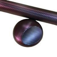 緋色のオートバイのボディの色の変更フィルムカーボンファイバーステッカーカメレオン