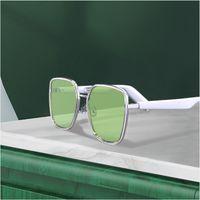 Occhiali in metallo Smart Glasses WGP Audio Occhiali da sole e altoparlanti per ear connettori Bluetooth