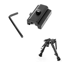 Adattatore per montaggio girevole per montaggio ferroviario Picatinny Sling a tessitore per Harris Rifle BiPod