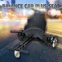 Elektrischer Roller 6,5 Zoll selbstausgleichendes Hoverboard Zwei Räder Zusätzliche Sitze Skateboard Board mit Bluetooth + Tasche Kick-Roller