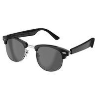 Casque de conduction osseux Casque Smart Verres sans fil Bluetooth5.0 Appels mains libres Musique Audio Sport Casque Eyewear Lunettes de vue Intelligent