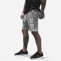 Шорты мужские фитнес бодибилдинг спортивные штаны летний тренажерный зал тренировки мужской дышащий хлопок спортивные брюки брюки
