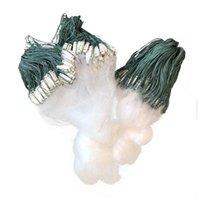 Рыболовная чистая односмысленная сетка нейлоновая прочная поплавковая ловушка моноволокна Гилл аксессуары для броска рук