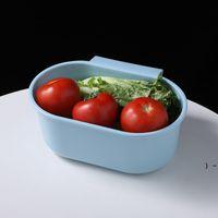 Waschbecken Abflusskorb Küchenzubehör Abläufe Rack Aufbewahrungsschüssel Racks Obst Gemüse Wasserfilter Kunststoff Sauger CAN SEE SHIP BWD6759