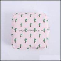 Storage Housekee Organization Home & Gardenstorage Bags Sanitary Napkins Bag Women Small Cosmetic Travel Mini Make Up Coin Money Card Lipsti