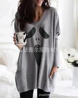 Sudaderas con capucha para mujer Sudaderas Otoño Ocio Halloween Ghost Suéter de manga larga WF2025