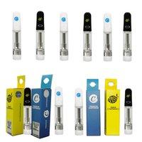 쿠키 카트 제한 에디션 vape 카트리지 Atomizers 0.8ml 1.0ml 510 스레드 카트리지 세라믹 코일 빈 vapes 펜 두꺼운 오일 기화기 전자 담배 포장
