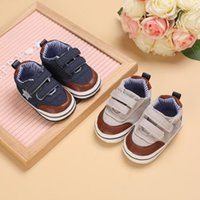 First Walkers Prewalker Born Spring And Autumn Style Stars Sports Shoes Casual 0-18 Months Baby Toddler
