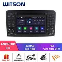 Player Witson Android 9.0 IPS Pantalla HD para - ML-W164 / GL-X164 Coche DVD 4GB + 64GB Flash 8 Octa Core + DVR / WIFI + DSP + DAB + OBD