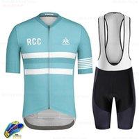 Велоспорт Jersey 2021 Pro Team Raudax Style RCC RX Короткие рукава Одежда Одежда для одежды MTB Велосипедная одежда Триатлоновые гоночные наборы
