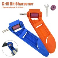 Professional Drill Bits Bit Sharpener Corundum Grinding Wheel Grinder Tool Power For 2-12.5mm Twist Edge