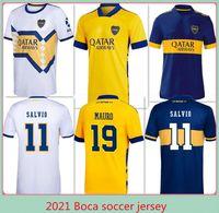 1981 Boca Juniors Maradona 2021 2022 Cabj Soccer Jersey Benedetto Gago Osvaldo de Rossi Tevez Pavon Jrs Sports Football Shirts Homens