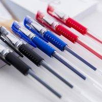 Standard European Neutral Pen Classic Bullet Head 0.5mm Scrittura Ufficio Signature Acqua Acqua Nera Studente di apprendimento cancelleria
