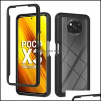 Aessories Cell Phones & Aessoriesred Armor Case Mi 10T Poco X3 Nfc Hybrid Phone Cases Er For Redmi 9 Pro Note8 Note 10 Lite Drop Delivery 20