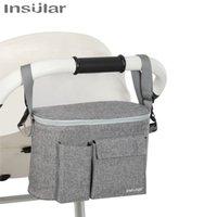 Baby Stroller Organizer Bag Accessories Mummy Diaper Multifunction Storage Milk Bottle Feeding Pouch Cup Cover 210907
