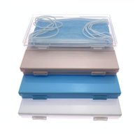 Storage Bags 4 Colors Face Mask Holder Box Disposable Portable Travel Organizer Home Container