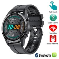 Smart Watch Pantalla táctil Bluetooth Mano gratis SmartWatch Hombres Mujeres Fitness Tracker Carto Call Message Music Band