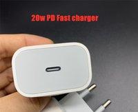 UPS DHL 20W 양질 18W PD 유형 C USB 충전기 빠른 충전 EU US 플러그 어댑터 휴대 전화 전원 배달 아이폰 12 프로 최대 충전기 용 빠른 충전기