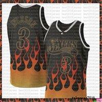 Drucken von Jersey Black Allen 3 Iverson Lebron 23 James Basketball Jersey 76er