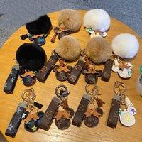 Мышь дизайн автомобиля брелок одолжение цветочные сумки кулон шарм ювелирные изделия горелки для мужчин подарок мода искусственная кожа животных брелок
