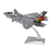 172 Amerikan F-35B Diecast Uçak Metal Fighter Uçak Oyuncaklar Hava Uçak Modeli Kiti Hediye Seti Çocuklar Çocuk Doğum Günü Için