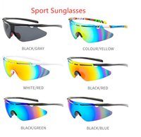 Wholesale Sunglasses Sports Men Road Cycling Glasses Mountain Bike Bicycle Riding Protection Goggles Eyewear 6 Color 8301 fast ship