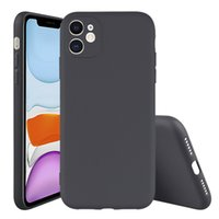 iPhone 12 Pro Max Phone Cases 삼성 갤럭시 A03S A22 Plus A52 S21 Fe Xiaomi Poco M3 무광택 고무 검은 TPU 커버