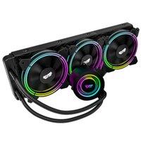 PC Case Water Жидкая охлаждение Aio Cooler Radiator PWM RGB Sync Водяной кулер CPU для LGA 2011 / 115x / 2066 / AM4 / AM3 +