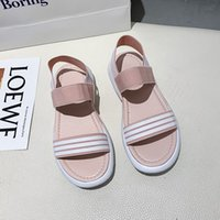 Sandalet Kadınlar 2021 Moda Düz Slaytlar Terlik Ayakkabı Köpük Koşucu Reçine Kemik Toprak Kahverengi Kurum Üçlü Renk Toplam Turuncu Sandalet