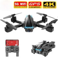 2020 Nuevo Drone GPS 4K 5G WiFi HD de gran angular Doble Cámara FVP Vuelo Drone 20min RC Distancia 600M Quadcopter vs S167 Drone