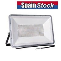 50W LEDフラッドライトフラッドライト、5000LMスーパーブライトワークライト、IP66防水屋外セキュリティライト、ヤード、庭、遊び場、バスケットボールコートのための冷たい白
