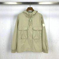 20ss Hotselling Piece Smock / Anorak Cotton Nylon Tela Pullover Jacket 남성 여성용 여성용 패션 디자이너 겉옷 코트