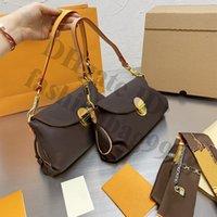 Klassisk Lady Shoulder Armpit Bag Crossbody Women General Formal Occasure Ture Läder PU Brand Flap Handväskor One Side Handväskor Stor kapacitet för Pone Wallet