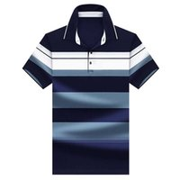 Jungle Zone Solid Color Striped Polo Shirt Fashion Men 2021 Top Quality Summer Summer Manica corta Polo Brand Brand Polo 707 P0813