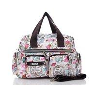 =Wholesale Cute Messenger Mama Baby Diapers Bag Bags For Stroller Nylon Nappy Mummy Fashion Bolsa Waterproof Maternidade Girl Twkcp
