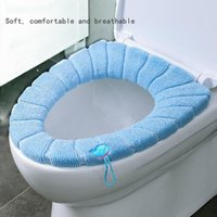 Toilet Seat Covers Cover Warm Soft Acrylic Washable Mat Home Decor Closestool Case Lid Accessories Bathroom
