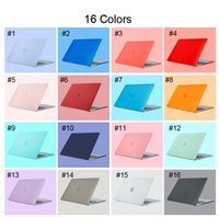 Frosted Surface Matte hard Macbook Laptop Case for 12 Air 11.6 15.4 Pro A1706 A1708 13.3Pro