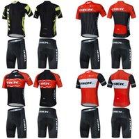 Yüksek kaliteli kara koyun pro ekibi areo bisiklet forması kısa kollu aero yarış kesim erkek ve kadın hafif kumaş yarış setleri
