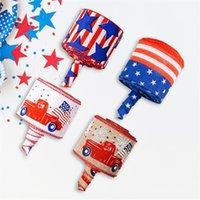 Accueil Bricolage Crafts Décoration Étoiles Stripes Patriotique Satin Ruban Spolban Spool Jour 4 juillet KDJK2105